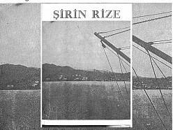 ŞİRİN RİZE DERGİSİ 1.SAYI (1954)