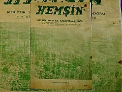HEMŞİN DERGİSİ 1. SAYI (1950) (Ankara Hemşin Kültür Derneği)