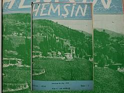 HEMŞİN DERGİSİ 7. SAYI (1954) (Ankara Hemşin Kültür Derneği)