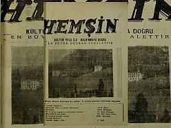 HEMŞİN DERGİSİ 3. SAYI (1950) (Ankara Hemşin Kültür Derneği)