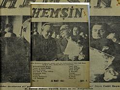 HEMŞİN DERGİSİ 4. SAYI (1951) (Ankara Hemşin Kültür Derneği)
