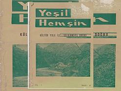 YEŞİL HEMŞİN DERGİSİ 2.SAYI (1968) (Ankara Hemşin Kültür ve Kalkındırma Derneği)