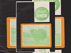 YEŞİL HEMŞİN DERGİSİ 4.SAYI (1975) (Ankara Hemşin Kültür ve Kalkındırma Derneği)
