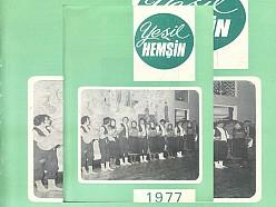 YEŞİL HEMŞİN DERGİSİ 6.SAYI (1977) (Ankara Hemşin Kültür ve Kalkındırma Derneği)